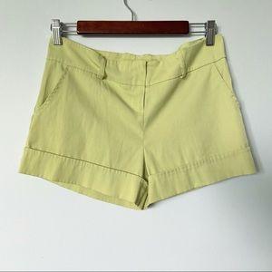 Green Suzy Sheir Size 4 Dress Shorts